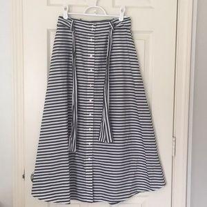 The fifth stripe skirt